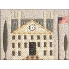 Town Hall Quilted Village Block of the Month Quilt Pattern by Janet Miller for the City Stitcher